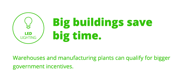 Big buildings save big time