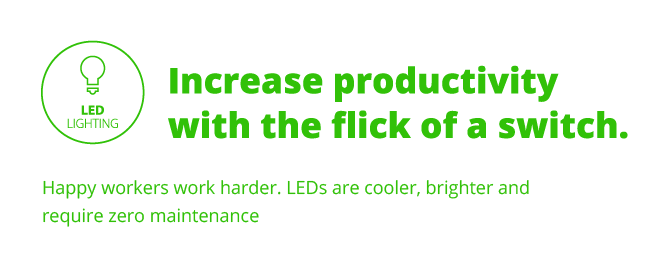 Increase productivity with the flick of a switch