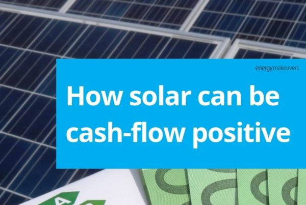 How solar can be cash flow positive