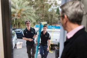 electricians visiting a home in NSW