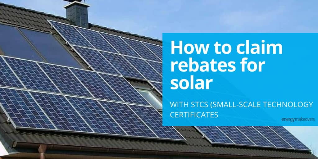 STCs for solar