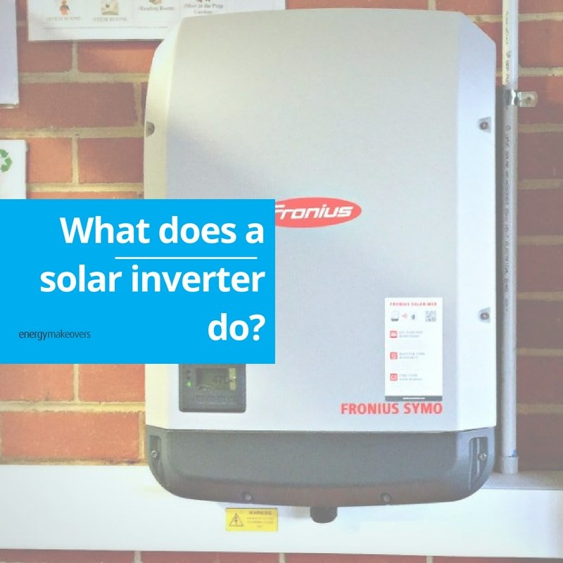 An inverter on the wall