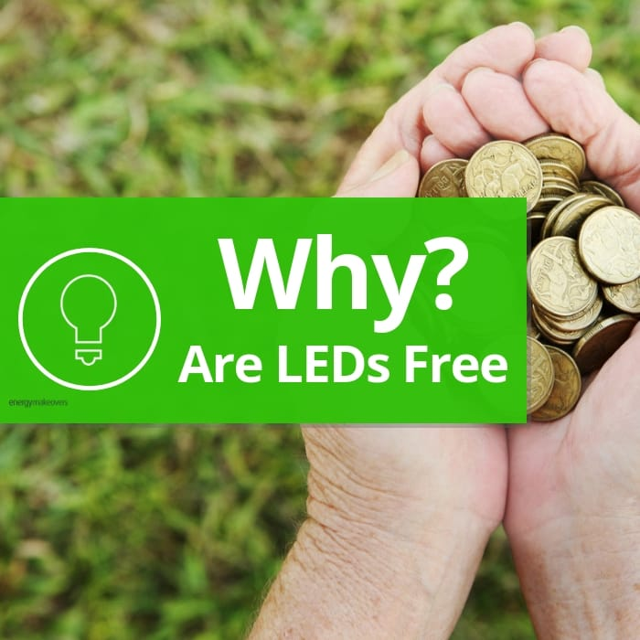 Why are LEDs free