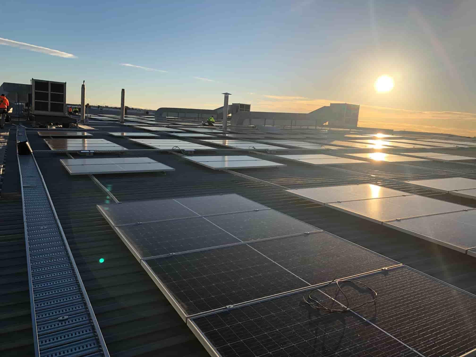 CHEP Australia's solar energy system