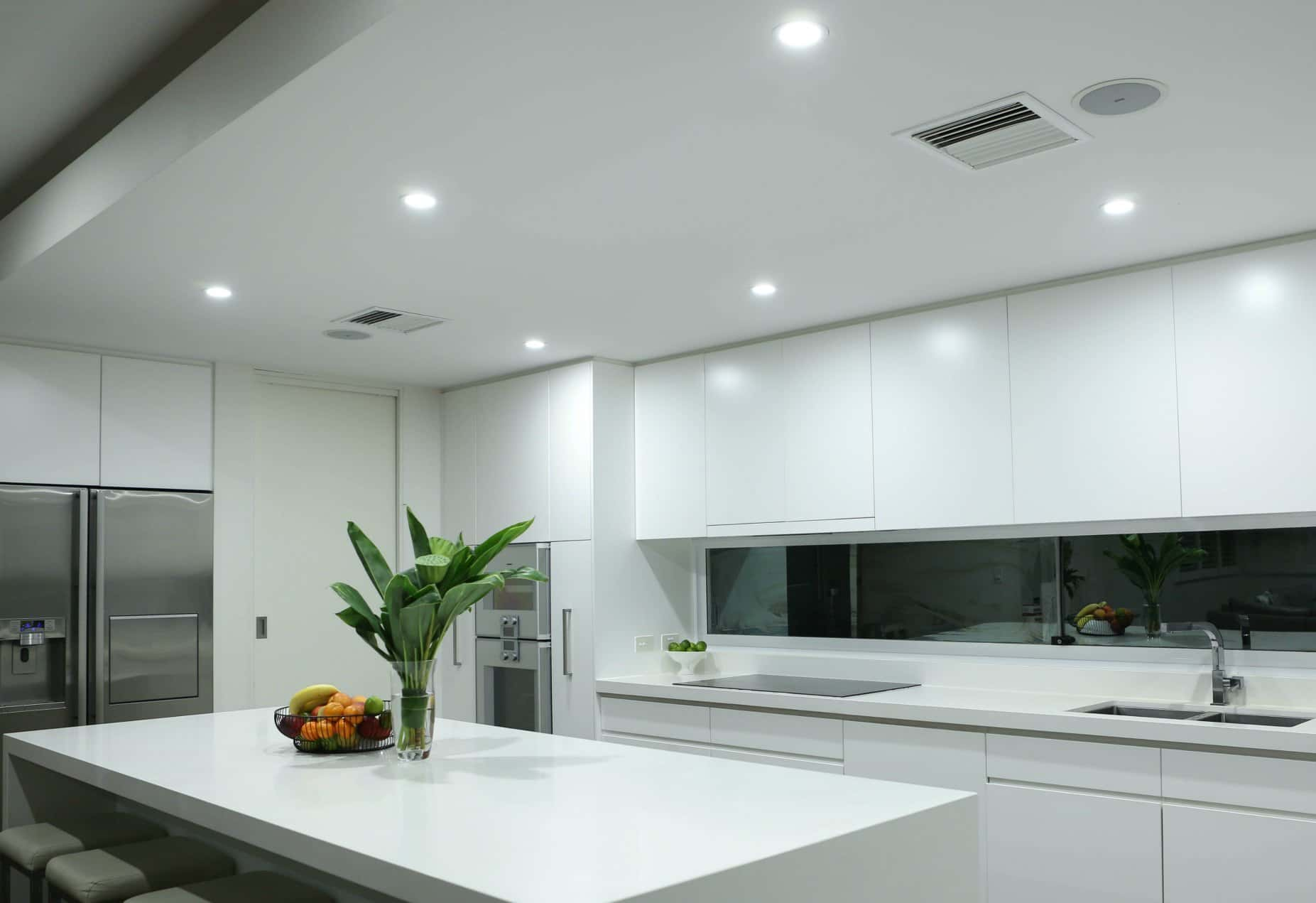 A Sydney home after an LED Upgrade