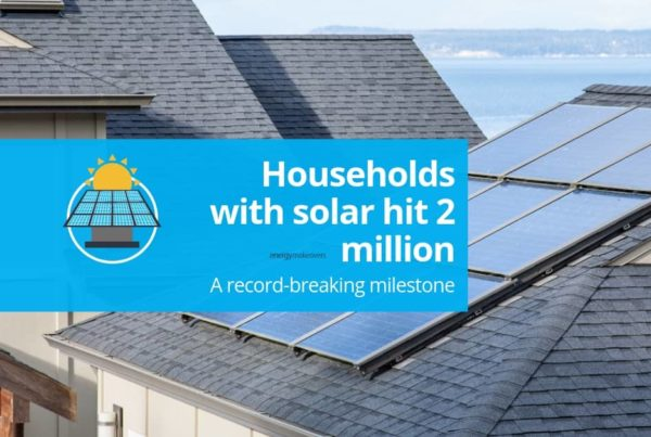 An Australian household with solar power