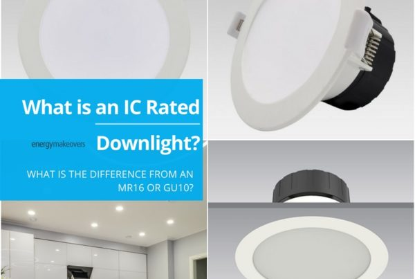 An IC Rated downlight