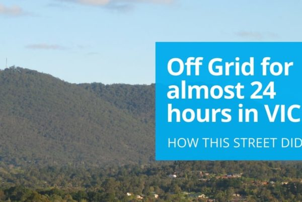 off grid for 22 hours