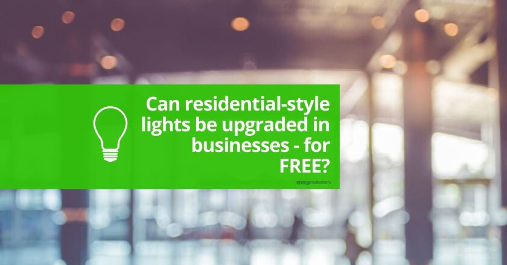 Residential lights for businesses