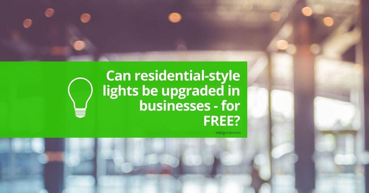 Residential lights for businesses