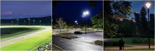 Various street lighting examples